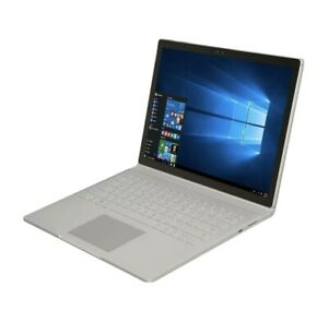 "Microsoft Surface Book i5-6300U 2.40GHz 8GB RAM 128GB 13"" Windows 10 Pro"