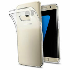 Liquid Crystal Cover for Samsung Galaxy S7 Edge - Spigen Crystal Clear