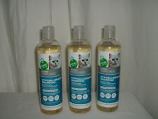 3 -12 fl. oz. GNC Pets Vitamin Enriched Hypoallergenic Cat Shampoo Fragrant Free