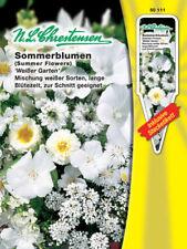 sommerblumen-mischung' Blanco Jardín ', Semillas para ca. 2-3 M ², 50111