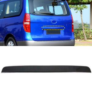 For Hyundai H-1 iMax 2008-2021 Carbon Fiber Black Rear Trunk Lid Cover Trim 1pcs
