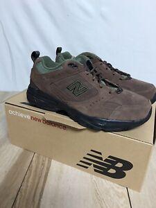 New Balance 608 V2 Training/Walking Brown Sneakers Men 8.5 2E
