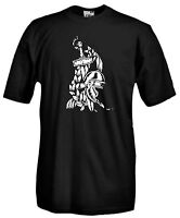 Maglia Daga e Elmo A40 Antica Roma SPQR Collezionismo Militare T-shirt Cotone