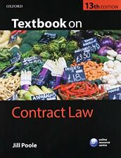 Textbook on Contract Law by Poole, Jill