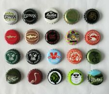 Craft Beer Bottle Caps Undented All Unique No Dents Micro Brewery Used Lot of 20