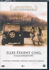DVD ZONE 2--ELLES ETAIENT CINQ--COTE/LAGUE/DESLAURIERS/LAFLEUR/YELLE--NEUF