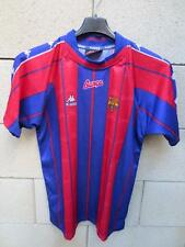 VINTAGE Maillot BARCELONE BARCELONA camiseta KAPPA shirt ancien 14 ans