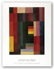 MUSEUM ART PRINT Horizontal Vertikal 1915 Johannes Itten