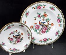 F Winkle PHEASANT (Smooth) Fruit Bowl & Large Rim Soup Bowl GREAT CONDITION
