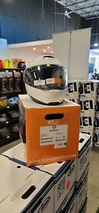 Schuberth C4 Pro Helmet Glossy White 55 Small (MFG 03/2019) (4561214360)