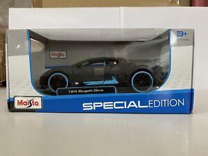 Bugatti Divo - Maisto 1:24 1/24 1-24