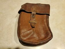 Vintage Czech Military Leather VZ58 Ammo Magazine Pouch Military Surplus