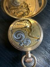 Vintage Half hunter  cased Elgin pocket watch