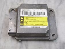 OEM 03-04 Saturn Ion SRS Airbag Control Module, Supplementary Restraint Computer