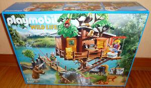 PLAYMOBIL Wildlife Baumhaus Abenteuer Set Nr. 5557, NEU, OVP