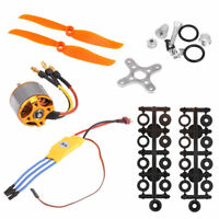 RC 2200KV Brushless Motor 2212-6+30A ESC+Free Mount for Plane Helicopter RC Part