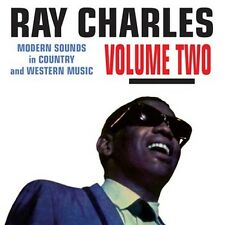 CD RAY CHARLES  VOLUME TWO MODERN SOUNDS IN COUNTRY & WESTERN MUSIC OH LONESOME