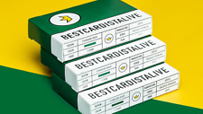 Best Cardist Alive V4 Green Playing Cards Limited Edition