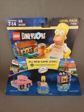 New Lego Dimensions 71202 Homer Simpson Car Taunt-o-Vision TV 98 pc NIB Set