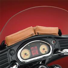 Dash Twin Pouch Desert Tan for Indian Roadmaster, Chieftain 2014+ (V30-206D)