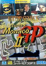AYRTON SENNA'S SUPER MONACO GP II 2  SEGA MEGA DRIVE MD MEGADRIVE  JAPANESE