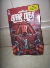 KLINGON WITH DISRUPTER RIFLE Star Trek Wrath Of Khan FASA MINIATURES 2616 SEALED
