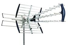180 MILES 1080P HDTV OUTDOOR AMPLIFIED ANTENNA HD TV DIRECTIONAL UHF/VHF/FM
