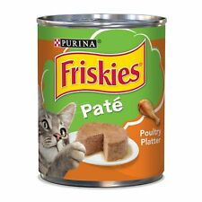 New listing Purina Friskies Classic Pate Poultry Platter Cat Food - 12 13 oz. Cans