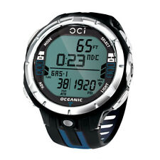 Oceanic OCi Dive Computer w/ USB - Black/Blue