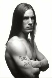 POSTCARD Print / Joe Dallesandro with long hair, 1970