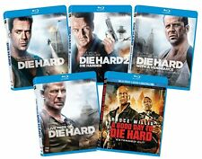 Die Hard Collection Blu-ray Set Film 2 with a Vengeance Live Free Good Day to TV