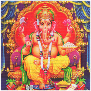 GANESH 2018 DOUBLE SIDED HIGH QUALITY BLOTTER ART