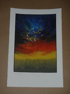 Stanley Donwood Set Art Print Signed Radiohead Artist