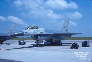 Original slide 79-0340 Lockheed F-16 U.S. Air Force, USAF, 1988