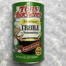 Tony Chachere's Original CREOLE Seasoning Shaker Container 8 oz No MSG