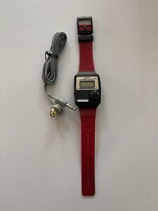 Vintage Wild Planet Quartz FM Radio Wristwatch- Great Condition Read Description