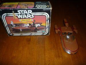 Star Wars Vintage Land Speeder in the Original Box!