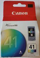 Canon 41 Pixma ChromaLife 100 Original Ink Cartridge CL-41 Color | NEW / SEALED