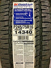 4 New P 245 75 16 BFGoodrich Long Trail T/A Tour Tires