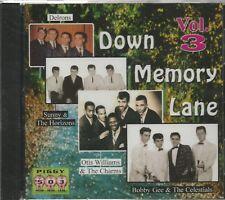 DOWN MEMORY LANE- CD - Vol. 3 - BRAND NEW