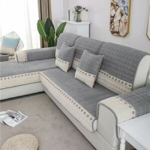 Modern Style Sofa Covers Cushion Velvet Sofa Cover  Room Couch Cushion Covers
