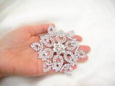 Crystal Rhinestone Applique Diamante Trim Sew on Wedding Evening Dress 1 pcs