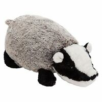 BRAND NEW JOHN LEWIS ADORABLE BADGER PLUSH SOFT TOY ORIGINAL TAG ATTACHED