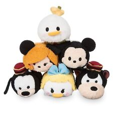 Disney Store Tsum Tsum TOWER OF TERROR Collection Set Of 6 Plush Mini 3 1/2''