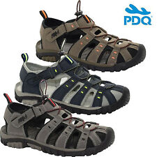 MENS SUMMER SPORT ADVENTURE CLOSED TOE SANDALS WALKING TRAIL BEACH HOLIDAY SHOES