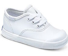 Keds Toddler Champion White Leather Toe Cap Sneakers Size 9.5 NEW