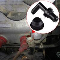 Black PCV Valve Grommet Fitting Kit 90° 17130-PK1-003 17139-PK1-000 For Honda