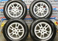 "LAND ROVER DISCOVERY 3 17"" ALLOY WHEEL SET WITH TYRES NRFT L319"
