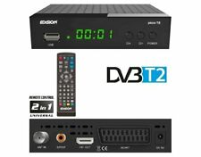 Edision Picco T2 H.264 HEVC, Full HD DVB-T2 Receiver With USB WiFi
