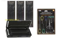 NGT Carp Fishing Rig Box Wallet  6 Way for 72 Rigs  24 x Hair Rigs + Tool Kit